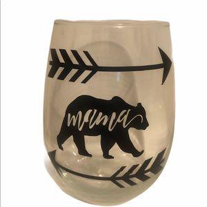 Mama bear glass